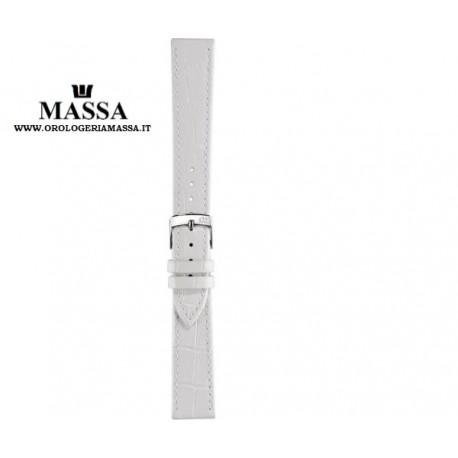 Cinturino bianco alligatore 14mm/ strap band