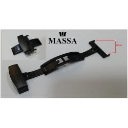 CHIUSURA NERA  PER CINTURINO/BLACK STRAP BUCKLE MOMO DESIGN 22mm