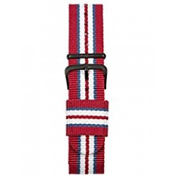 MORELLATO STRAP IN CANVAS, BREATHABLE, ANALLERGIC, WASHABLE WITH STAINLESS STEEL BUCKLE
