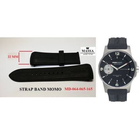 STRAP BAND MOMO DESIGN MD-064  MD-065 MD-165 OLD  22MM